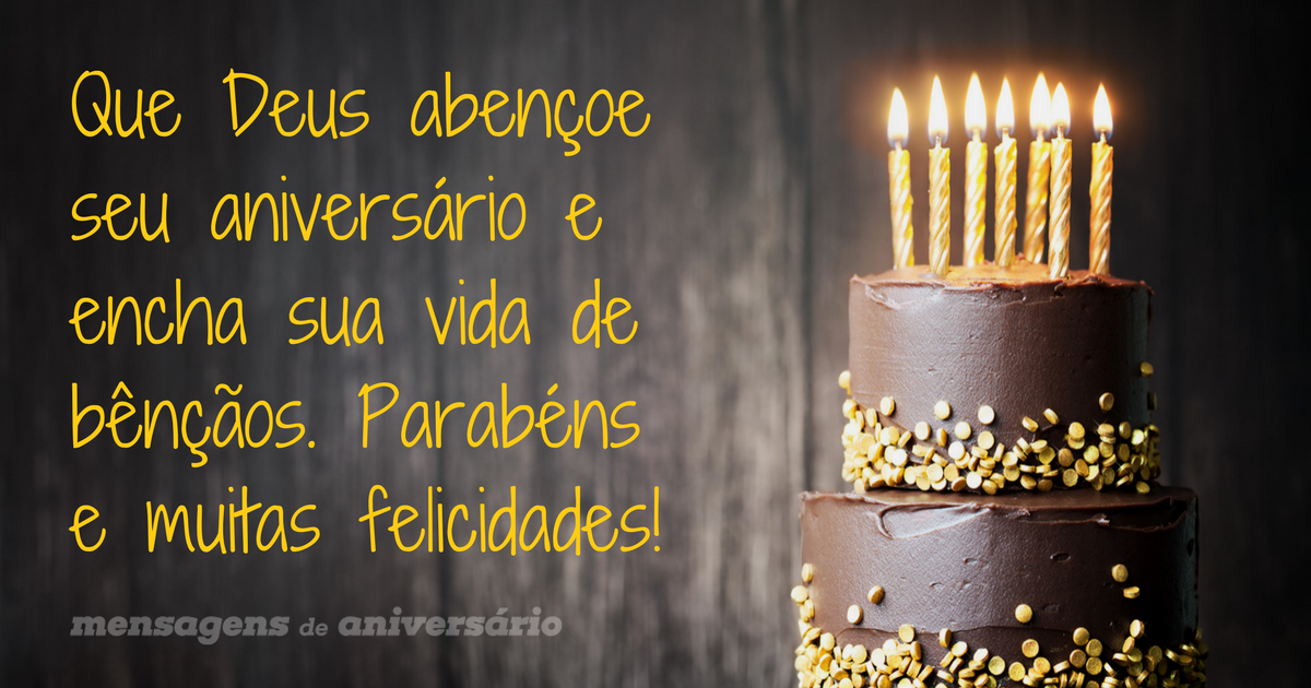 Mensagens De Aniversário Evangélicas Mensagens De Aniversário