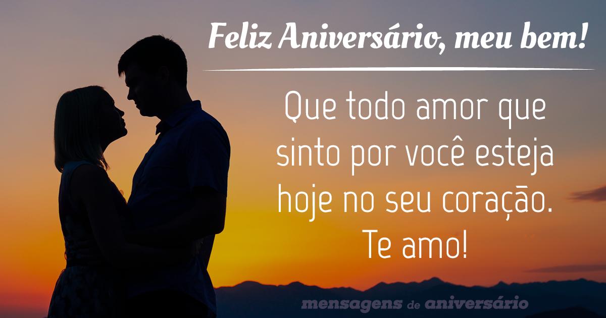Mensagem de aniversario para namorado que todo amor