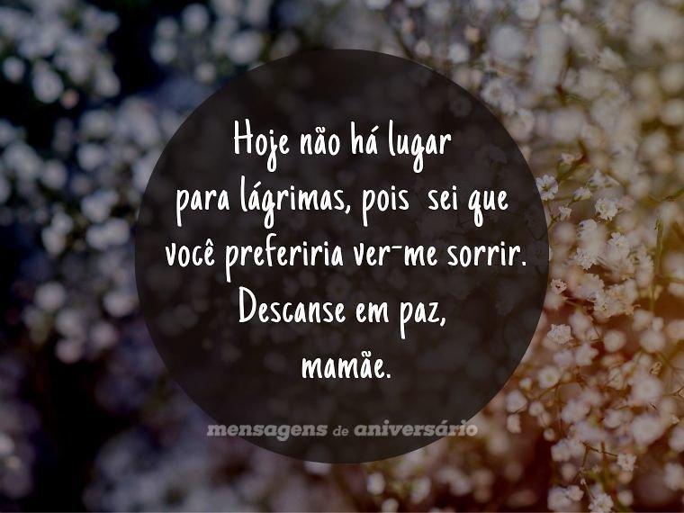 Por você eu sorrio, mamãe