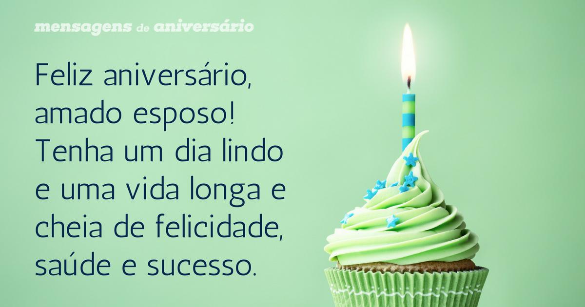Tenha Uma Vida Longa E Feliz Prima: Feliz Aniversário, Amado Esposo