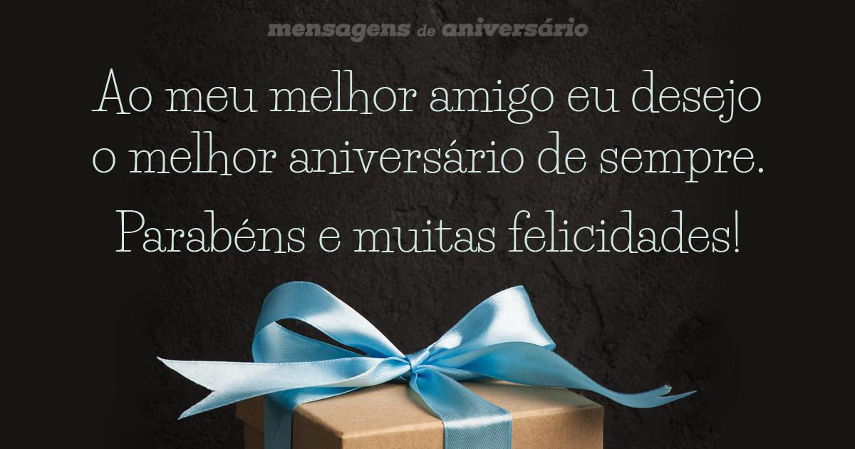 Mensagens De Aniversário Para Melhor Amigo Mensagens De Aniversário