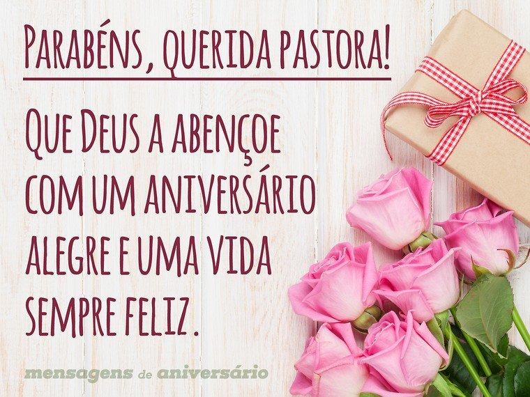 Parabéns Querida Pastora Mensagens De Aniversário