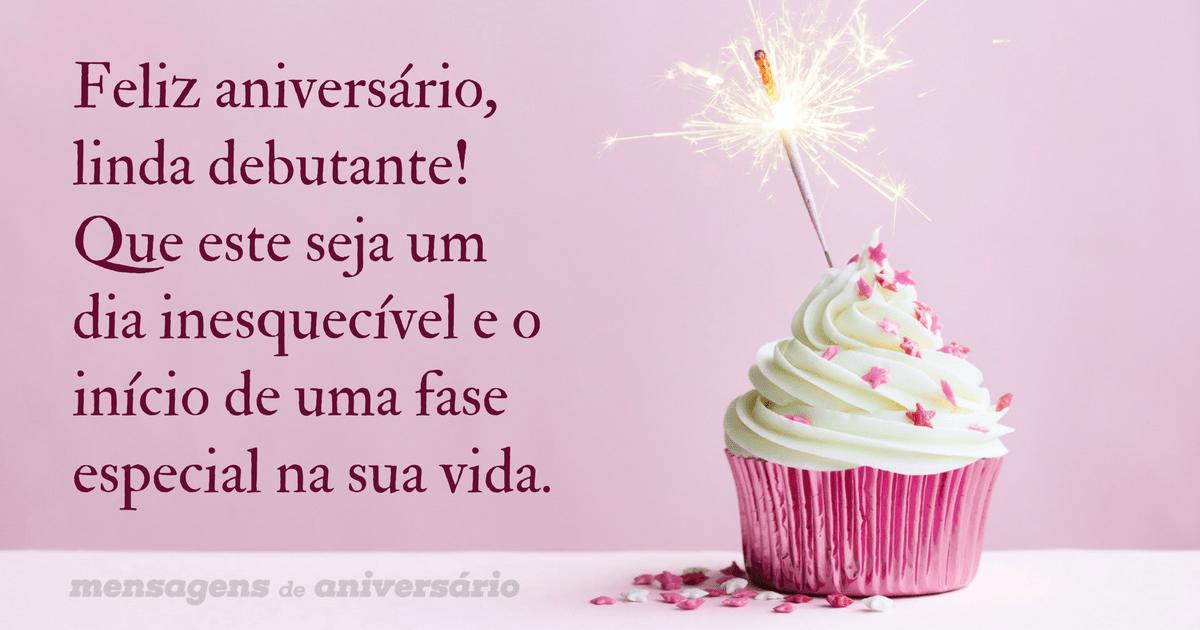 Feliz Aniversário Cunhada: Feliz Aniversário, Linda Debutante