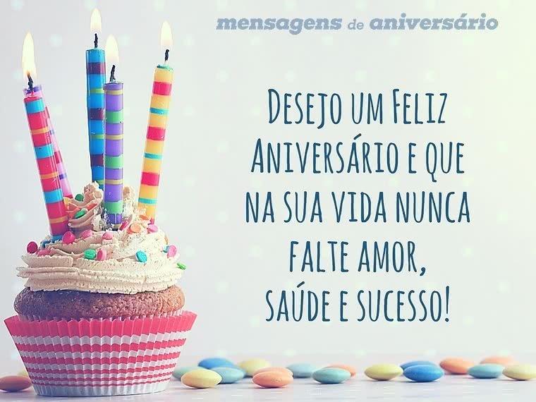 Desejo Um Feliz Aniversário