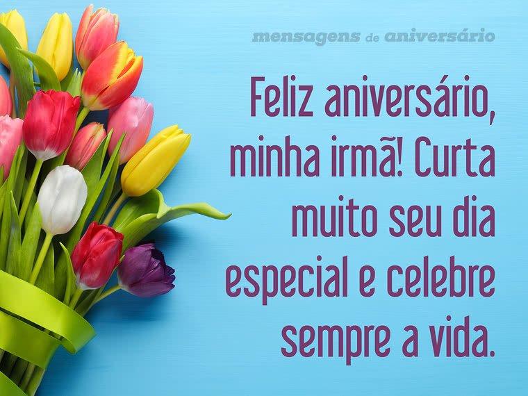 Feliz Aniversário Minha Cunhada Irmã: Celebre Sempre A Vida, Irmã