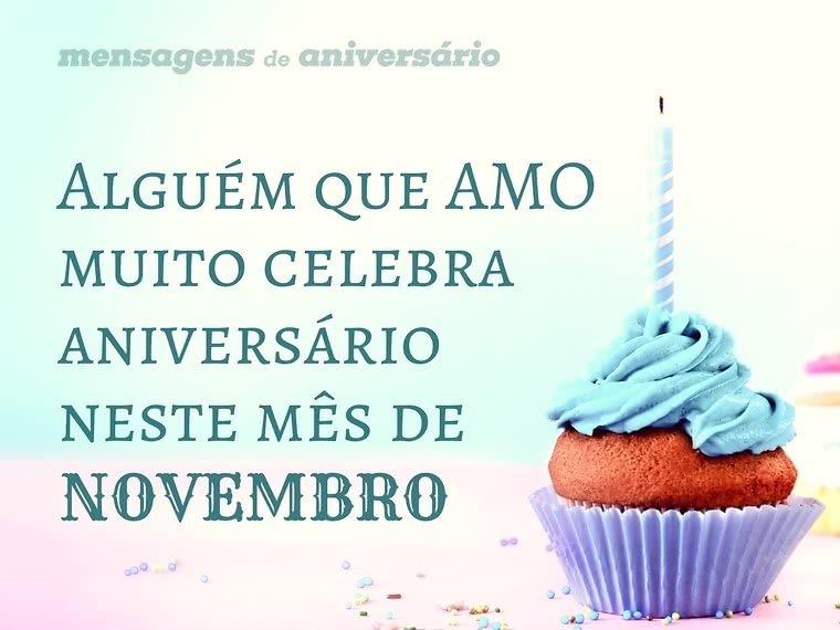 Quem Celebra Aniversário Em Novembro Mensagens De Aniversário
