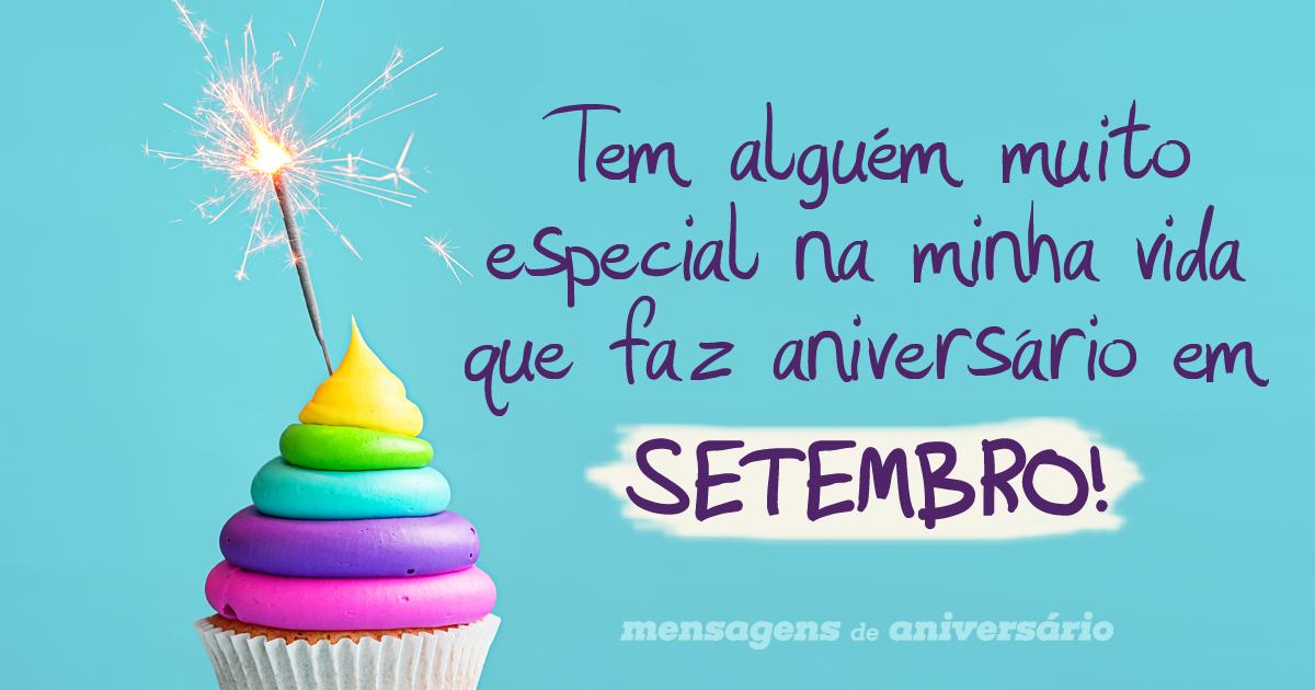Para Os Aniversariantes Especiais De Setembro Mensagens De Aniversário
