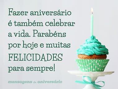 Fazer aniversário é celebrar a vida