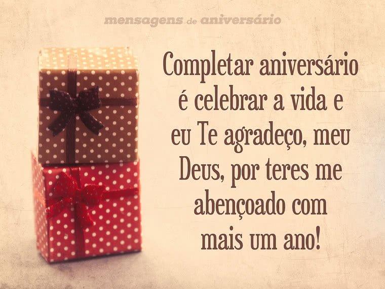 Agradecimento A Deus Por Mais Um Ano Mensagens De Aniversário